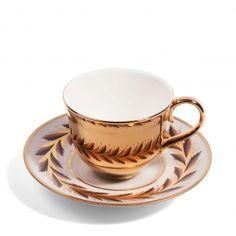 Reflect Gold Teacup & Flight, Barr & Barr saucer