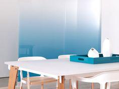 Blue Gradient Glass | Installations | 3form