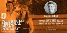 Managing the Beast that is Social Media and Making it Work for You with Jon Acuff: Recap Episode - Brand Builders Group Take The Stairs, Freaking Hilarious, Social Media Site, Live Events, Make It Work, One In A Million, Personal Branding, Bestselling Author, Work On Yourself
