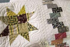 Cool pieced quilt border
