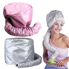 Hair Bonnet Hood Dryer Soft Attachment Portable Salon Haircare Home Cap Drying #HairBonnetChina