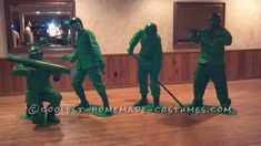 Best Homemade Toy Soldiers Group Costumes... This website is the Pinterest of costumes