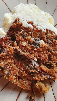 Chunky Homemade Carrot Cake Recipe with the Best Cream Cheese Frosting