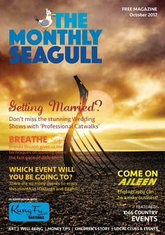 *FREE TO DOWNLOAD* Check out the NEW LOOK October #MonthlySeagull magazine! Vibrant #ADVERTISING #EVENTS inspiring reading and competitions! Click here to read, enjoy and share: www.themonthlyseagull.com/current-issue Delivered door to door! #Hastings #Bexhill