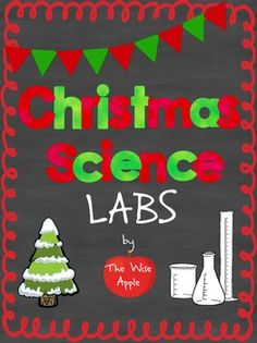 Looking for some FUN science activities to do before Winter Break? Look no further! Your students will love doing these educational, engaging and exciting lab activities. What's Included? Operation: Christmas Chariot: Santa's reindeer have gone on strike this year and all of the elves are busy making toys!