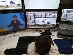 #baby #nerd #geek #babyson #love #happy #computer  #instapic #love