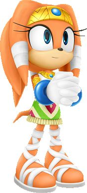 Tikal Appearances Real-world designer(s) Voice actor(s) Biographical overview Physical description Alignment and character traits Powers and abilities Tikal (ティカル Tikaru) is a fictional character from the Sonic the Hedgehog series. She is a 4,000 year old anthropomorphic echidna spirit and a former member of the Knuckles Clan who resided in the Mystic Ruins. She is also the daughter of Chief Pachacamac.