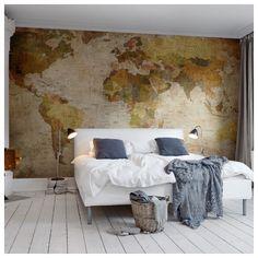 Décor mural - Rebel Walls - World Map - Original
