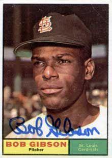 Bob Gibson, 1961 Topps (#211)