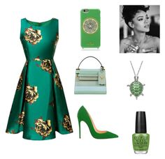Untitled #62 by kdeanbh on Polyvore featuring polyvore fashion style Valentino Kate Spade OPI clothing