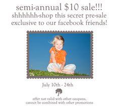 #Organic #KidsClothes Ten dollar sale @ Kate Quinn Organics