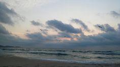 First sunrise from Primorsko, Burgas province - Bulgaria