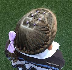 Sportish hairstyle