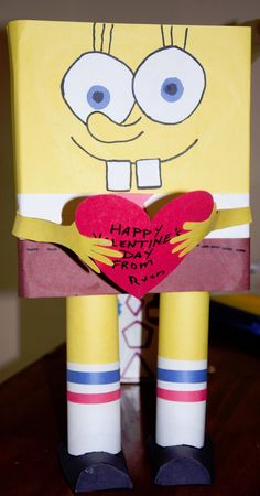 The REAL Housewives of Riverton: Sponge Bob Valentine Box