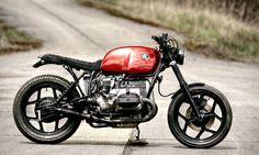 BMW R80 Cafe Racer, Flat Tracker, Brat by Designer Daniel Schuh, espiat.com
