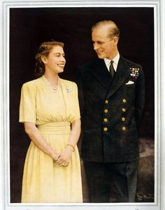 A Lifelong Love Affair by The Daily Beast Elizabeth had first met Prince Philip of Greece and Denmark when she was eight years old. Five years later, in 1939, they encountered each other again, and it was love at second sight. The pair began exchanging letters, and in 1946, they were secretly engaged. On her wedding day, Nov. 20, 1947, the 21-year-old princess couldn't find her bouquet, and her tiara snapped.