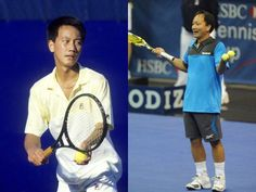 Michael Chang, 40, is the youngest ever male player to win the French Open at age 17 in 1989. It will be his only Grand Slam title (1988-2003). Chang has 34 career titles in total. After tennis, he became an avid fisherman. #learntennisfast