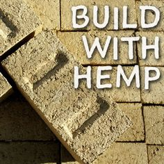 Hempcrete is cheap and helps make healthy homes! Sustainable Building Design, Sustainable Living, Hemp Recipe, Passive House Design, Earth Bag Homes, Eco Buildings, Hemp Hearts, Oil Mix, Natural Building