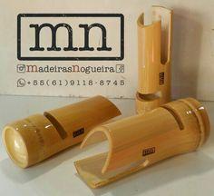 Caixa de som de bambu