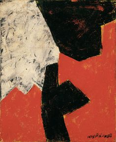 Title: Serge Poliakoff, Composition Abstraite, 1960 - Artist: Serge Poliakoff (1900-1969, Russian). Year: 1960, Oil on canvas