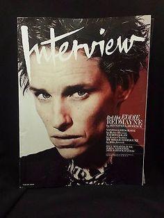 Andy Warhol's Interview Magazine - Eddie Redmayne, Vanessa Redgrave