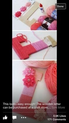 Yarn diy - Click Pick for 20 Cheap and Easy Diy Gifts for Friends Ideas Last Minute Diy Christmas Gifts Ideas for Family Homemade Christmas Gifts, Christmas Diy, Xmas Gifts, Diy Christmas Gifts For Friends, Christmas Colors, Cheap Christmas Gifts, Last Minute Christmas Gifts Diy, Crafts With Friends, Google Christmas