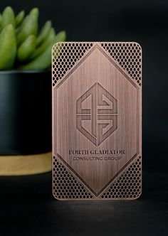 Rustic or Modern? This Copper Finish Card proves that you can be both! With sleek cutouts and the unique copper surface etching, you can make a big impact all while having a clean and simple design.   You are able to ditch paper cards forever and instantly stand out when you hand your clients a card this impressive!    #mymetalbusinesscard #metalbusinesscards #metal #copper #realtor #realtorsofinstagram #branding #custom #entrepreneur #entrepreneurlife #buy #luxe #unique Metal Business Cards, Luxury Business Cards, Elegant Business Cards, Business Card Design, Gravure Laser, Visiting Card Design, Victorian Frame, Laser Art, Envelopes