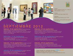 Museo de Arte de Bayamón: Septiembre 2012.