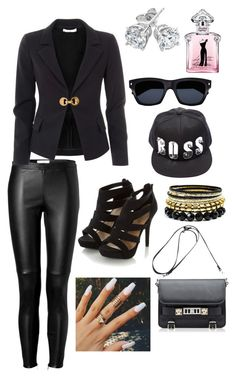 """Block B ""Very Good"" M/V Inspired Outfit"" by keysfashionista ❤ liked on Polyvore featuring Burberry, Versace, Reeds Jewelers, Guerlain, Yves Saint Laurent, Wet Seal, Proenza Schouler, Inspired, musicvideo and blockb"