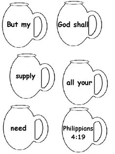Bible verse printables and activities from this site:  http://meridianabc.org/Childrens.htm