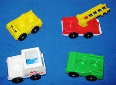 Vintage Fisher Price Main Street - vehicles Jouets Fisher Price, Fisher Price Toys, Vintage Fisher Price, Main Street, Memories, Vehicles, Memoirs, Souvenirs, Cars