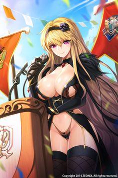 Sword girls artwork by Snow Ball 22.