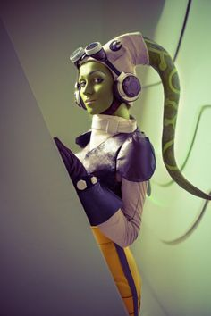 Hera Syndulla from Star Wars Rebels by #cosplayer Feyische