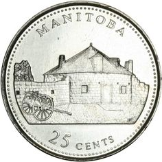 Canadian Coin Collection: Manitoba 1992 - Anniversary of Confederation Vancouver, Canadian Things, Silver Investing, Canadian Pacific Railway, Buy Gold And Silver, Coin Design, Coins Worth Money, Coin Worth, Geography