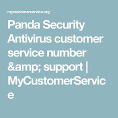 Panda Security Antivirus customer service number & support | MyCustomerService