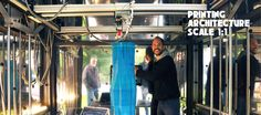 "Kamer Maker (""RoomBuilder"") is a giant 3D printer capable of 2.0m(width) x 2.0m (length) x 3.5m (height)! Finished in 2012, now working hard."