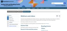 This resource provides webinars on approaches to teaching reading. It discusses teaching reading through early years to Year 10.