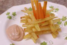 Figueirinha de batata e cenoura - para as crianças - for the kids