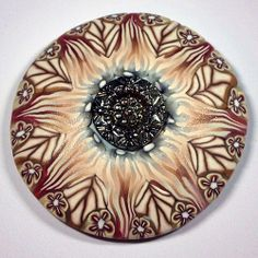 Sunflower radial by Barbara McGuire created for Grovewood Gallery - view complete set on Flickr - at woman creative