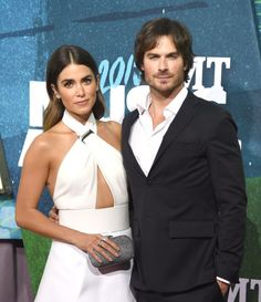 Pin for Later: 19 Memorable Celebrity Weddings of 2015 Ian Somerhalder and Nikki Reed