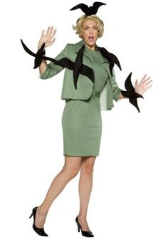 Melanie Daniels costume from The Birds (1963) Hitchcock Party Theme
