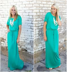 New colors of this adorable dress now available @The Nest On Main!!