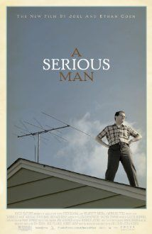 """In just a few short days, a new Coen Brothers movie will premiere at the Toronto Film festival! It's called """"A Serious Man"""" and just like the rest of the world, I cannot wait to see it. Movie Scripts, Movie Titles, Movie Tv, Movie Posters, Cinema Posters, Movie List, Brothers Film, Coen Brothers, Brothers 2009"""