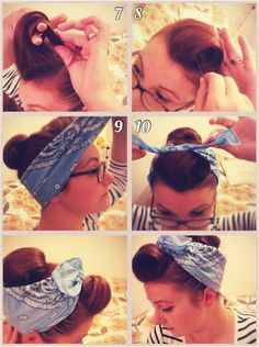 Hello again to all my lovely readers! Following several requests I've decided to go ahead and do my first vintage style hair tutorial. Th...