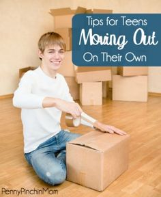 Share these tips with any teen who may be moving out on their own! Lots of good stuff here!!