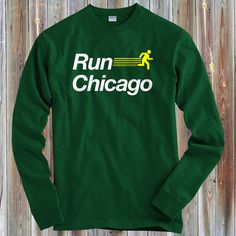f9954124c LS Run Chicago V2 Tee - Long Sleeve T-shirt - Men S M L XL 2x 3x 4x - Chicago  Shirt, Running, Marathon - 4 Colors