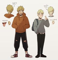 Kenny x Butters ~ teens