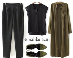 This beautiful trend of long shirts is gorgeous, stylish and modest. These long shirts make creating an outfit so easy, you can put anything on and add one of these for a good coverage and a stylish look. With no…