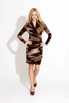 8a0e5ce516d Karen Kane Wrap Dress Fall Forward