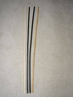 5 Stück Orginal Manila  Rohrstock / Spanking  Set 75 cm